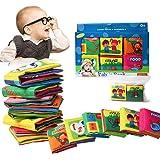 Bambino Cognition libro (6 PCS), Wholethings Intelligence Development panno Animal libro Learning & Activity giocattoli per i bambini neonati