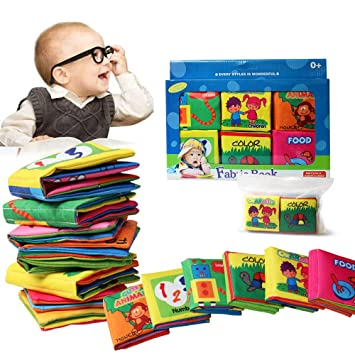 Baby Entdeckungsbuch Buch 6pcs Mit Geschenk Box Whloething Baby