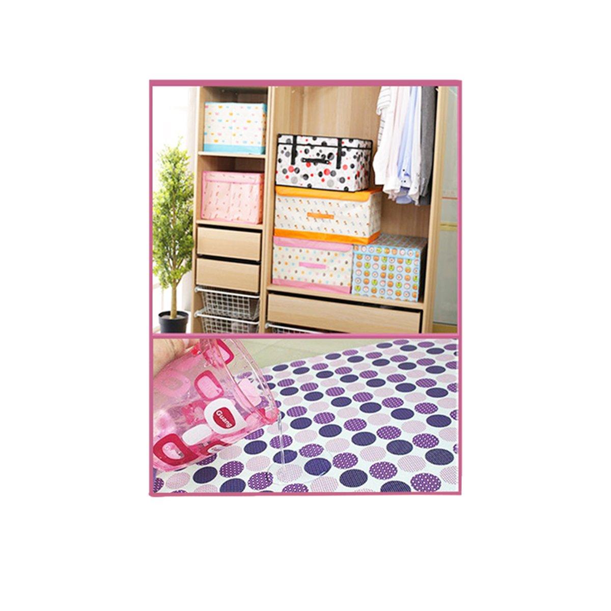 Caja Organizador de Ropa, Toallas, sabanas, Zapatos etc... Diseño Paris con Tapa, Impermeable y Resistente. Tamaño 40x30x25cm: Amazon.es: Hogar