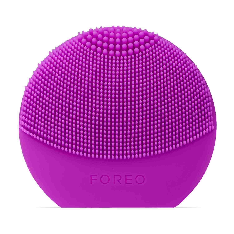 FOREO LUNA play plus Brosse lissante visage portable/Purple/Appareil pour soin du visage étanche à piles F3445
