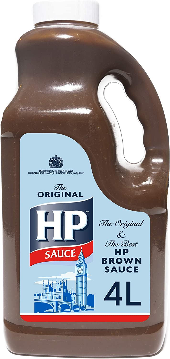 HP Brown Sauce, 4 Litre: Amazon.co.uk: Grocery