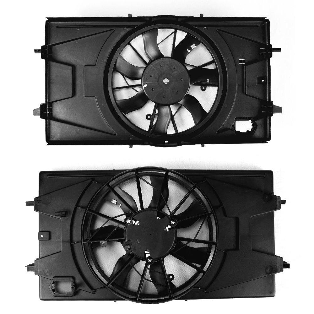For GM3115179 Radiator AC A//C Condenser Cooling Fan Assembly For 2005-10 Chevy Cobalt 2007-10 Pontiac G5