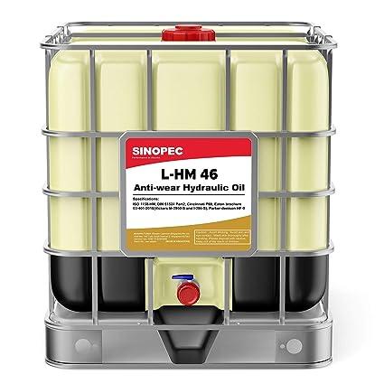 Sinopec AW 46 Fluido de Aceite hidráulico (ISO VG 46, SAE 15 ...
