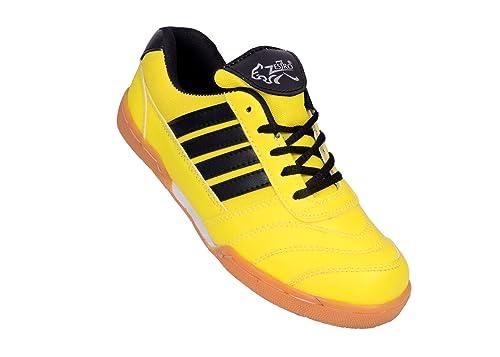 Sports Men Badminton Yellow Shoes