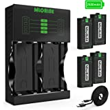 Xbox One Rechargeable Battery Packs 4 x 2500mAh Nimh Xbox Accessories Rechargeable Controller Battery and Xbox Charging…