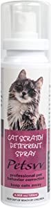 Bitter Cat Deterrent Spray, Cat Scratch Spray to Protect Furniture Plants & Other Household Items, Plant-Based Anti Scratch Cat Spray