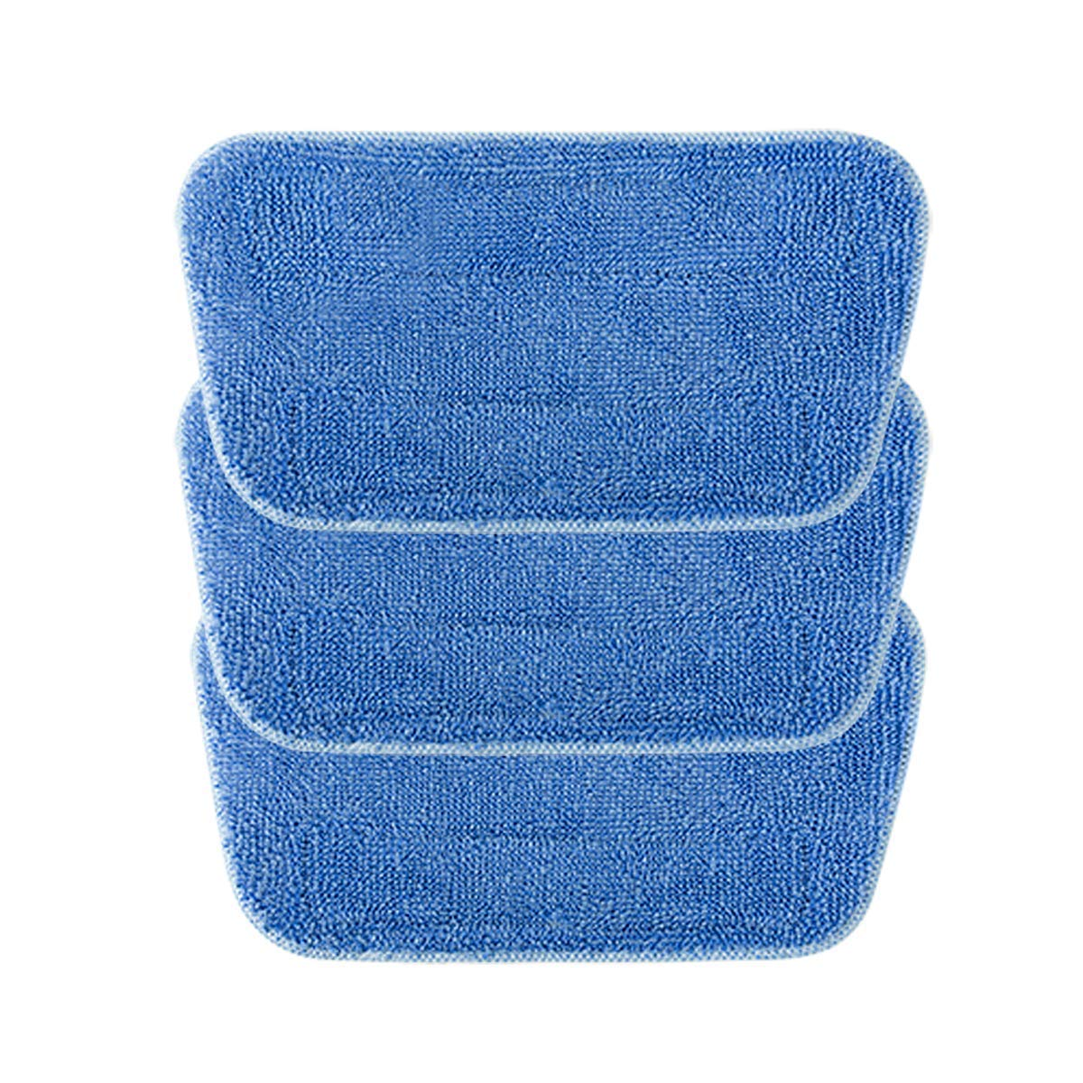 iwoly Steam Mop Cleaning Pads 3 Pack Washable Floor Mop Replacement Pads by iwoly