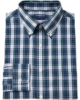 dbd912f6e8 Croft & Barrow Mens Classic Striped Button up Dress Shirt Red S at ...