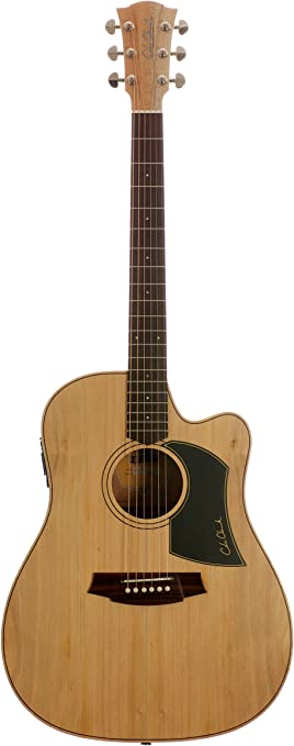 Fat Señora Cole Clark 1-CW Bunya / arce guitarra acústica ...