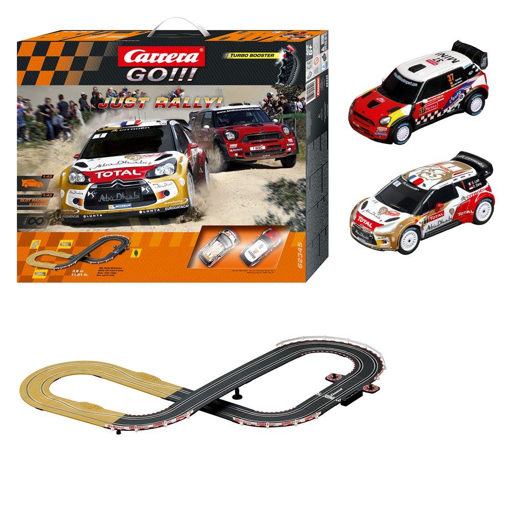 Carriera 20.062.345 - GO!!! Just Rally!, Circuito da corsa, incl. 2 ...