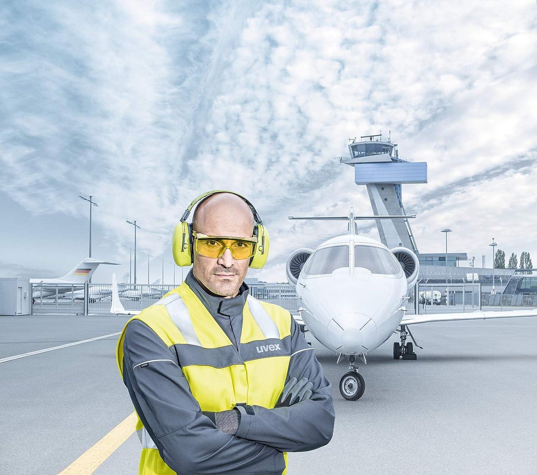Uvex Astrospec 2.0 Gafas Protectoras Lentes Amarillas Seguridad Trabajo