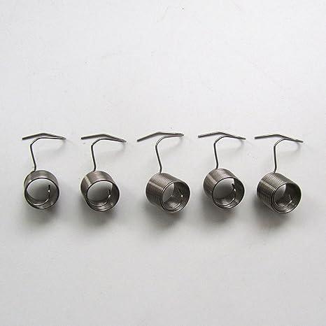 KUNPENG - # 229-21605 5 piezas COMPROBAR RESORTES DE TENSIÓN para MÁQUINAS DE COSER