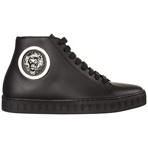 Versus Versace Sneakers Alte Lion Head Donna Nero: Amazon.it ...