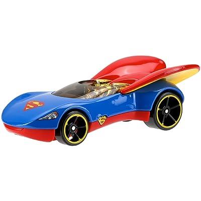 Hot Wheels DC Comics Superhero Girls Supergirl Vehicle: Toys & Games