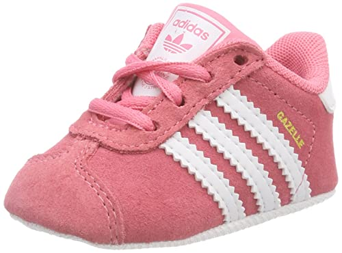 Image Unavailable. Adidas Baby Girls  Gazelle Crib Shoes ... 37e8b8e97