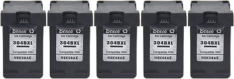 NineLeaf 5PK - Cartucho de tinta de repuesto para impresoras HP ...