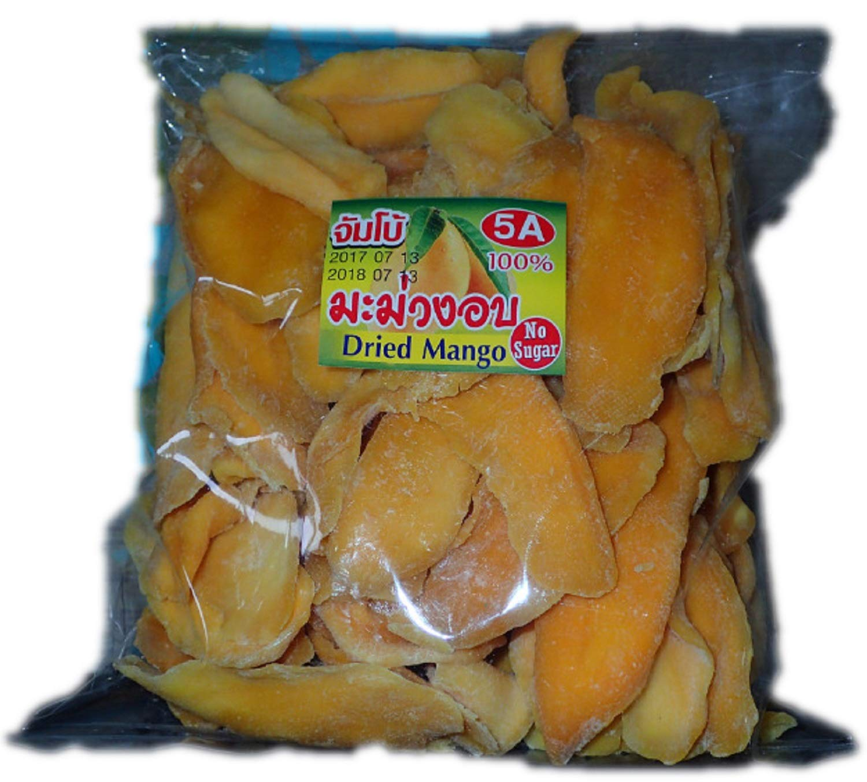 400g Mango Snack Soft Dried Thai Fruits Natural Food Organic Mangoes