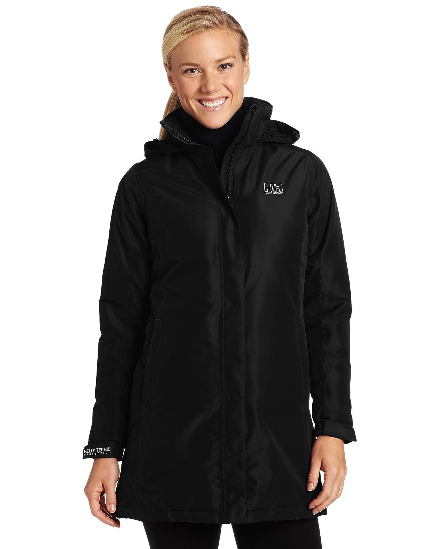 Helly Hansen Women's W Insulated Long Aden Jacket (Black, XX-Large) 55936