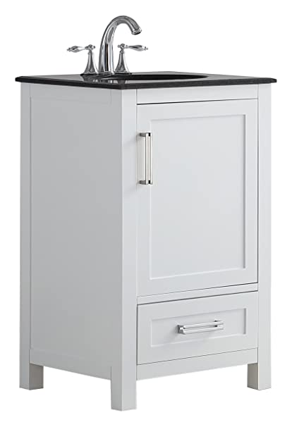 Simpli Home Axcvshw 20 Evan 20 Inch Contemporary Bath Vanity In