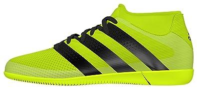 on sale d13c3 d137a Core Schwarz Solar Gelb Silber Herren Adidas ACE 16.3 Primemesh Im  Einzigartig Designed