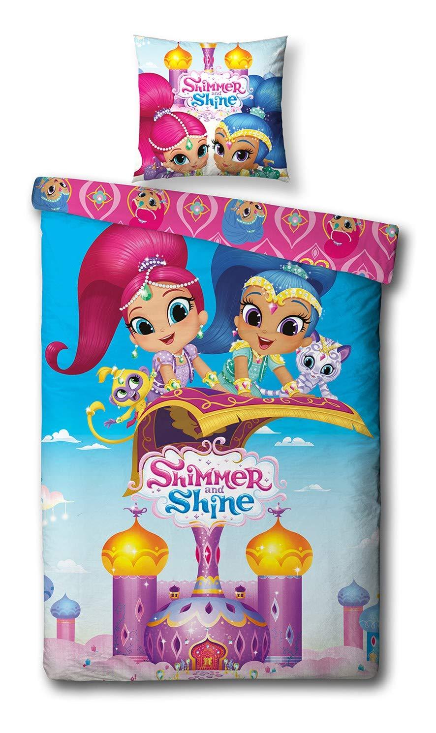 Amazon.com: Nickelodeon Shimmer and Shine - Juego de funda ...