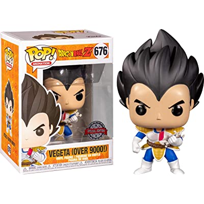 Funko Pop Dragon Ball Z Vegeta Over 9000!: Toys & Games
