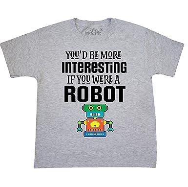Amazon Com Inktastic Robotics Club Funny Robot Joke Youth T Shirt