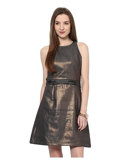 Amazon Yepme Enya Party Dress Copper Clothing