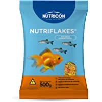 Nutriflakes® 500gr Nutricon Para Todos Os Tipos de Peixe Adulto