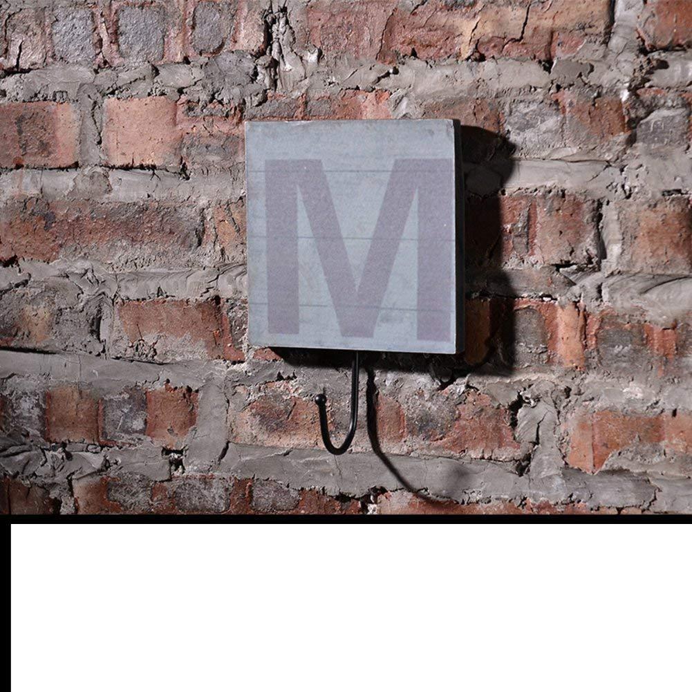 QINCH-Home Dekorationen-Amerikanisches Dorf mit der alphanumerischen alphanumerischen alphanumerischen Wandmontage Type Decoration, F (Größe   L) B07MNPS6J4 Granulate 2d979a