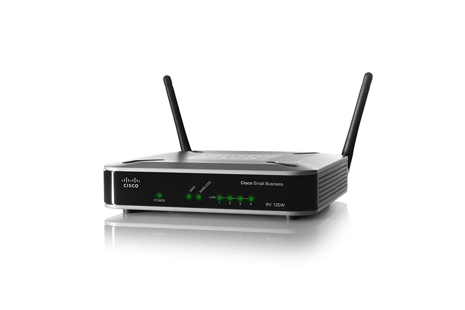 Cisco RV120W Wireless-N VPN Firewall Router 4-Port Switch, 802 11b/g