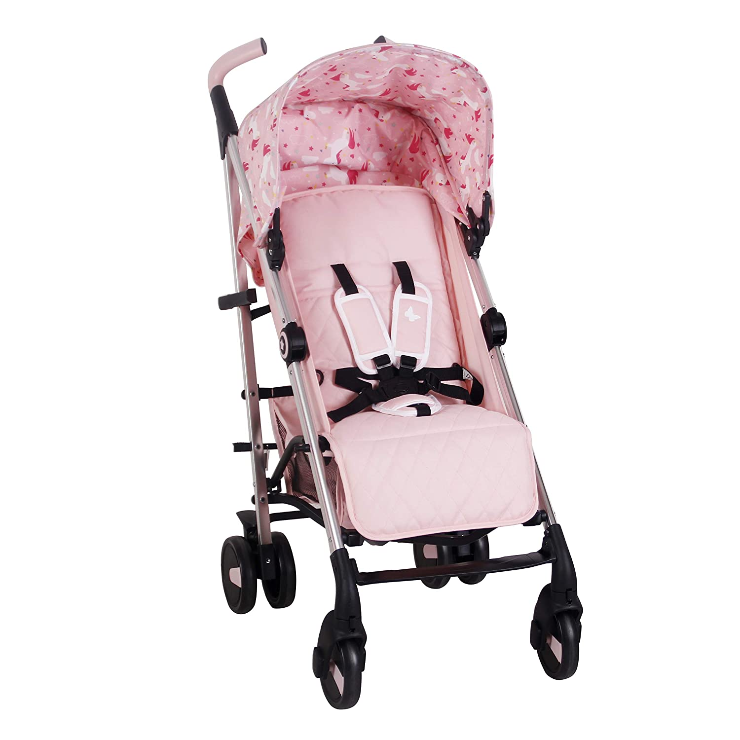 My Babiie US51 Believe by Katie Piper Unicorns Stroller – Suitable from Birth to 33lbs