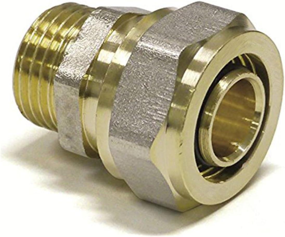 Coude 16 mm 16 mm connecteur COMPRESSIO pour PERT-Al-pert ou Pex-Al-Pex