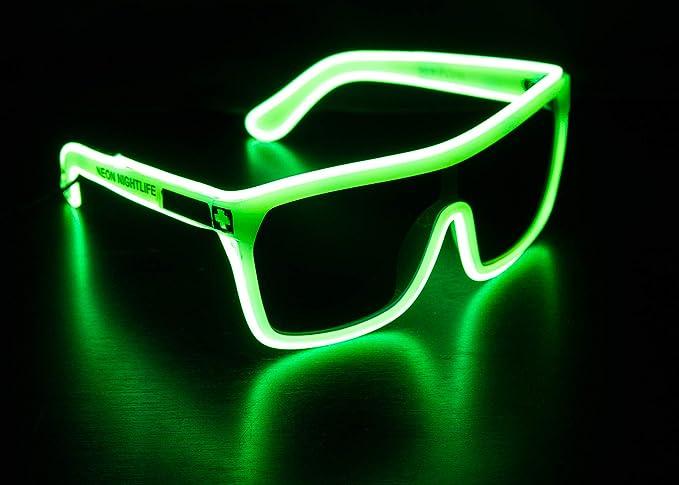 Glowing glasses