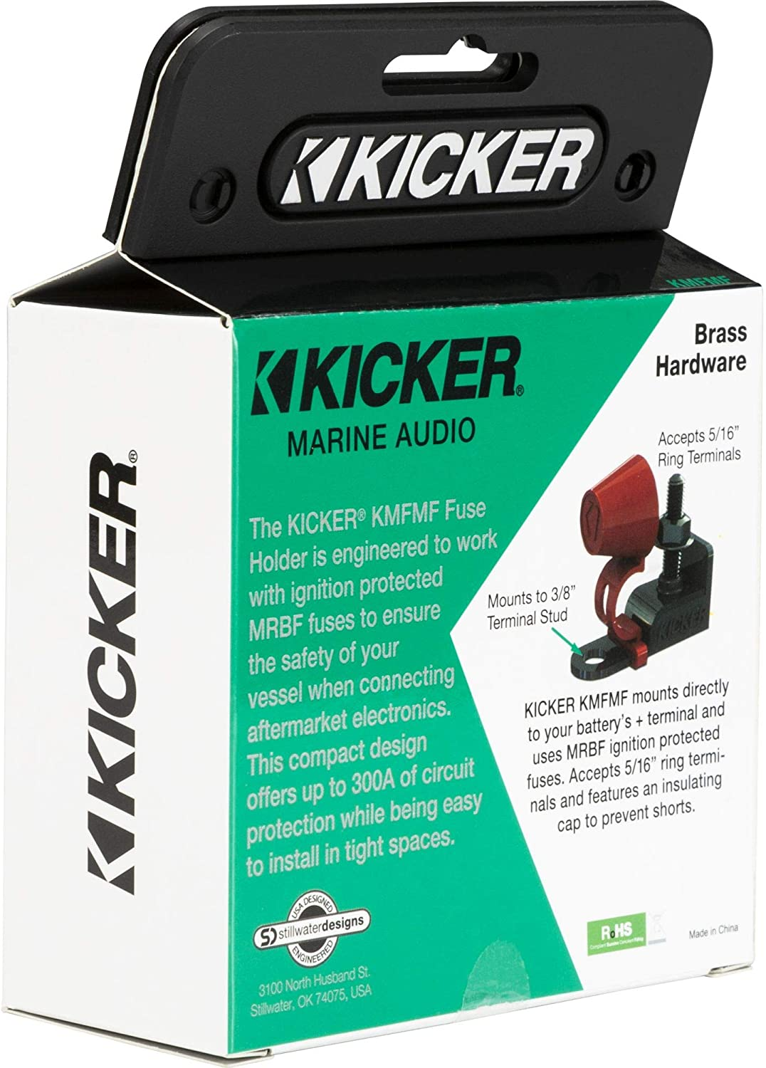 KICKER 47KMFMF ABYC Compliant Master Fuse Holder