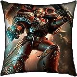 Games Workshop: Warhammer 40,000 Blood Angels Silk Finish Cushion - 42 cm by Games Workshop: Warhammer 40,000
