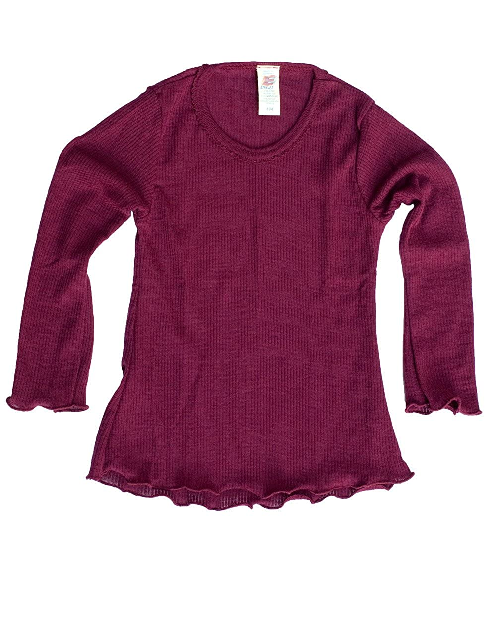 Engel Natur, Mädchen Shirt, Wolle und Seide Mädchen Shirt 777811