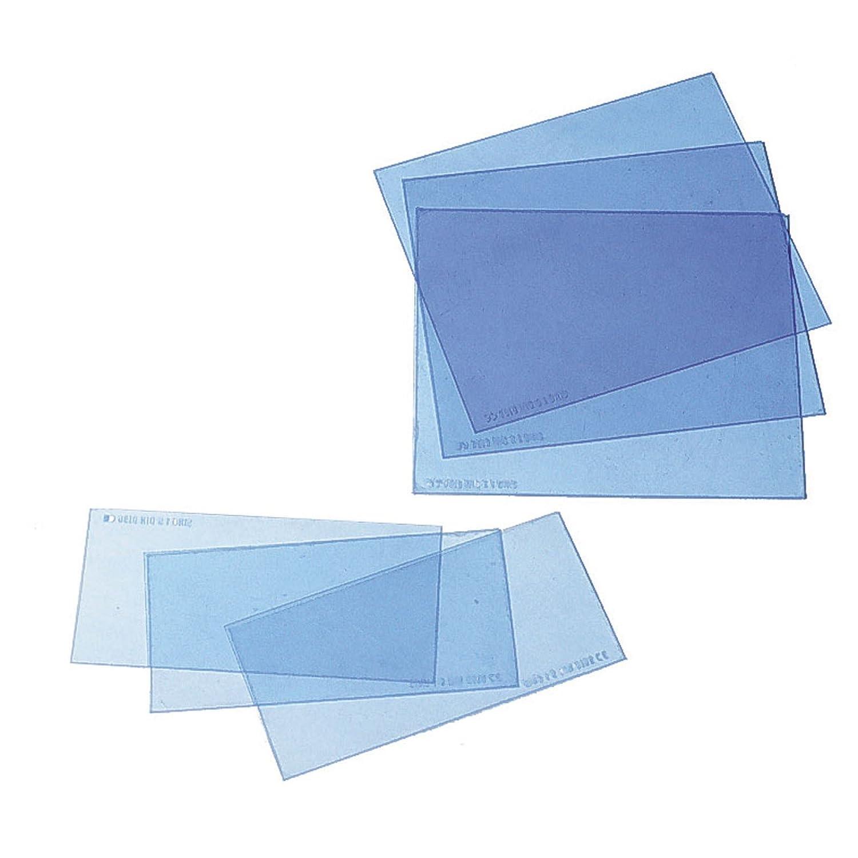Ersatzscheiben Vorsatzscheiben fü r Schweiß erhelm verschied. Grö ß e VPE 10 Stck., Grö ß e:51 x 108 mm Wilpeg®