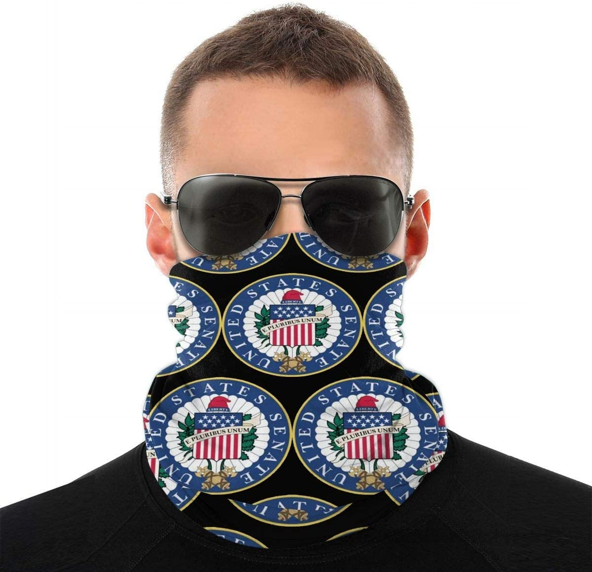 Emergencia pagada por enfermedad de la factura introducida a prueba de viento máscara de la cara protector solar de la cabeza bufanda protección UV cuello polaina pasamontañas bandanas
