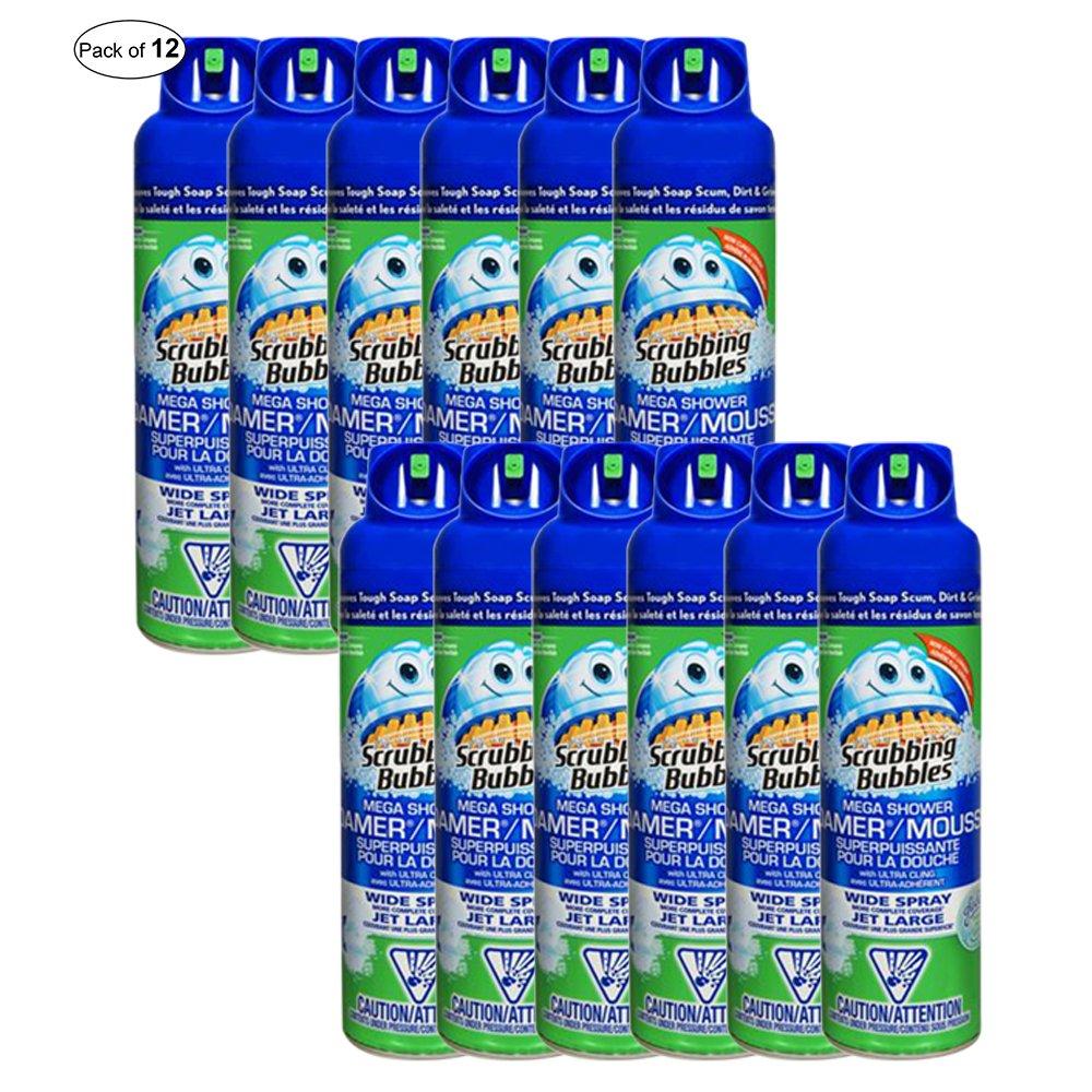 Scrubbing Bubbles Bathroom Mega Shower Foamer (567g) (Pack of 12)