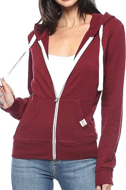 Amazon.com: Urban Look - Sudadera con capucha para mujer ...