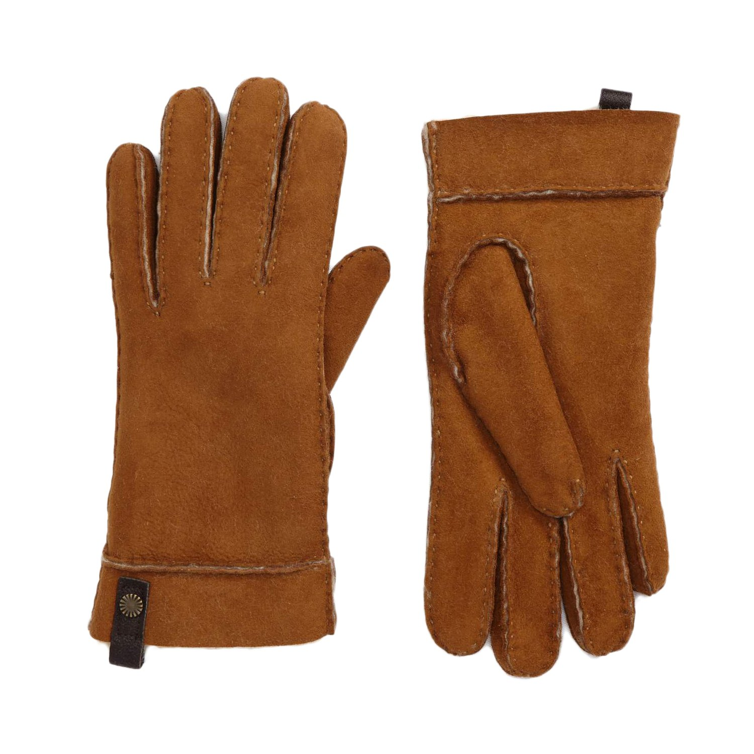 UGG Sheepskin Tenney Glove Women | Chestnut (16272) (M)