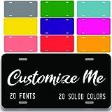 Custom License Plate for Front of Car | Custom Personalized Front License Plates | Custom Car Tags | 6 x 12 Inch…