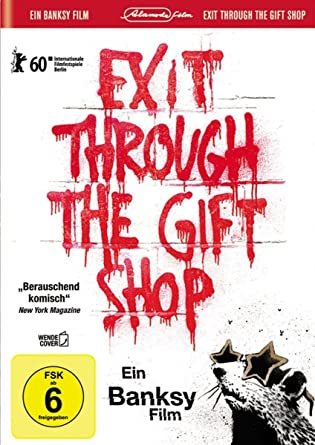 Banksy - Exit Through the Gift Shop inkl. Wendecover und deutscher ...