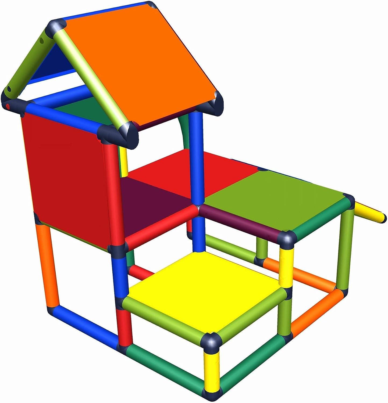 Casa de Juegos con tutela para ni/ños peque/ños para habitaci/ón de Juegos o habitaci/ón de Juegos Tan Adecuada como en el jard/ín move and stic Mila