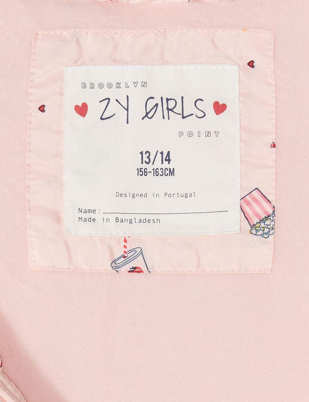 ZIPPY Puffer Vest Cryst Rose Gilet Bambina