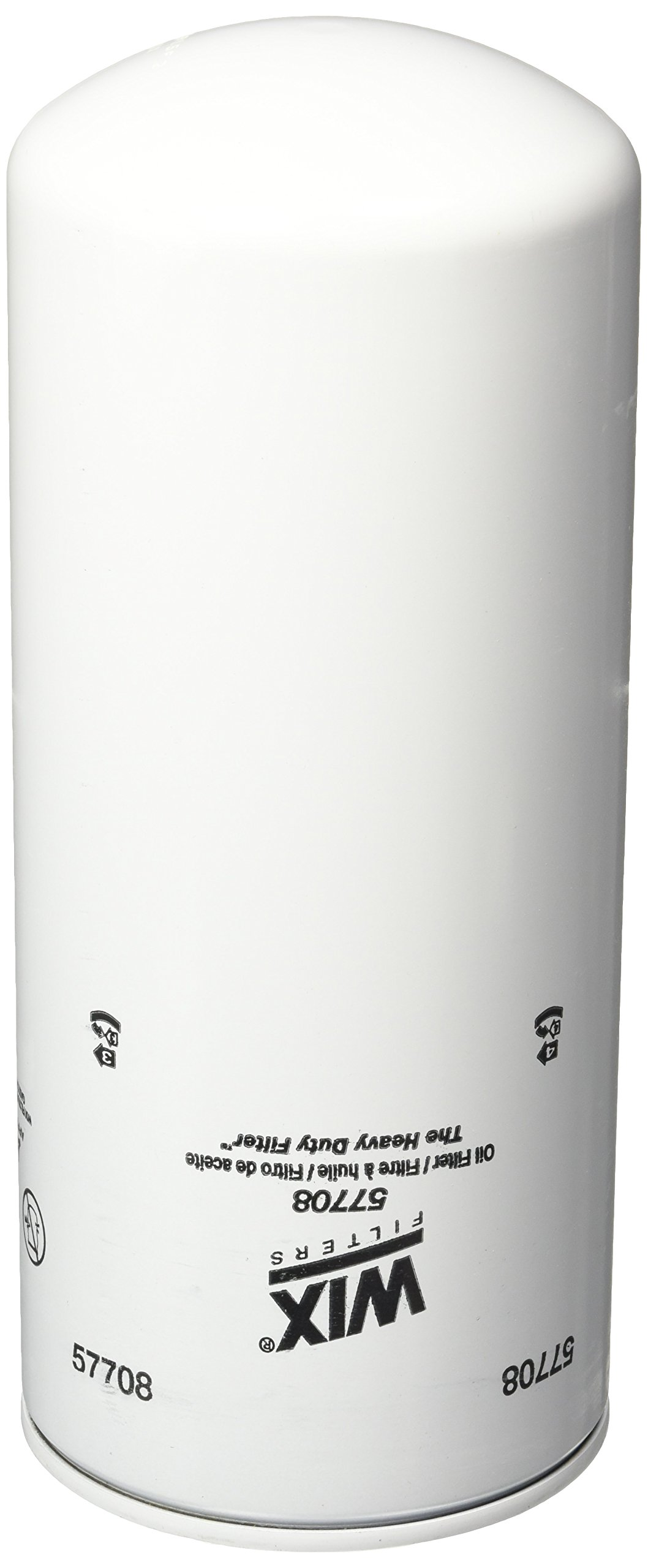WIX Filters - 57708 Heavy Duty Spin-On Lube Filter, Pack of 1 by Wix