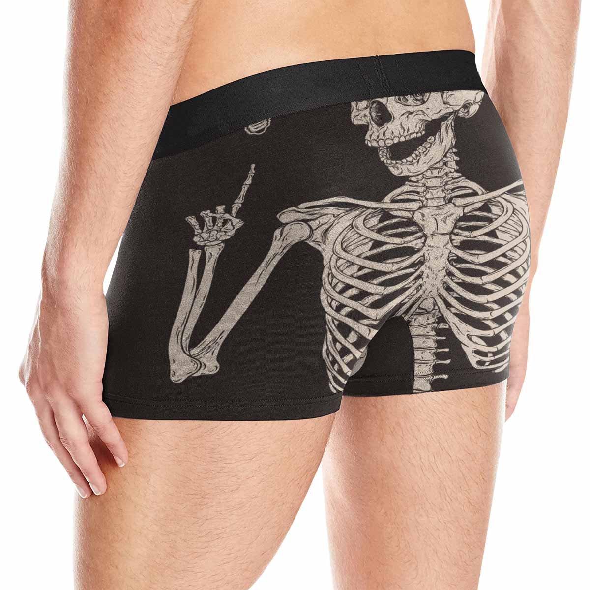 XS-3XL INTERESTPRINT Custom Mens Boxer Briefs Human Skeleton