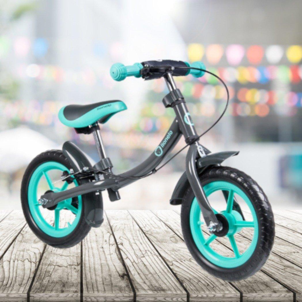 FRX Kinderfahrrad Balance Bike 12 Zoll Reifen Haltbares und langlebiges Metalldesign ergonomischer Sitz Praktischer Ständer Kids Bike Kids Bycicle