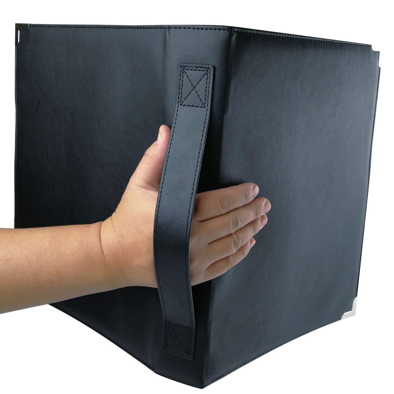 MSP Sheet Music Holder | 9.5'' x 12'' - 3 Rings Choir Folder with Hand Strap for Musician - Medium Size (MSP-210)